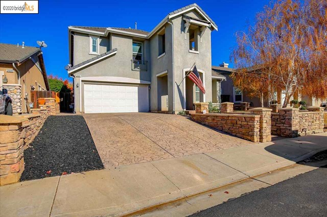 A must see! Here's your chance to live in a DESIRABLE Community located in Brentwood. This property is walking distance to Brentwood's top rated schools. The neighborhood boasts beautiful views of a golf course and mountain range. Easy access to Highway 4 Bypass. This Pottery Barn inspired home features 4 bedrooms, 2.5 full baths and 3 car garage. You'll love the open concept floor plan with beautiful engineered floors. Rich in natural light. Gourmet kitchen with granite countertops. Master bedroom suite has a fireplace, walk-in closet, jacuzzi, his and hers separate vanity sinks and new light fixtures. Upstairs laundry room. The large park like backyard design showcases a children's play area.  Perfect for entertaining family and friends. This home is ready to move in. Let's make this dream home yours.