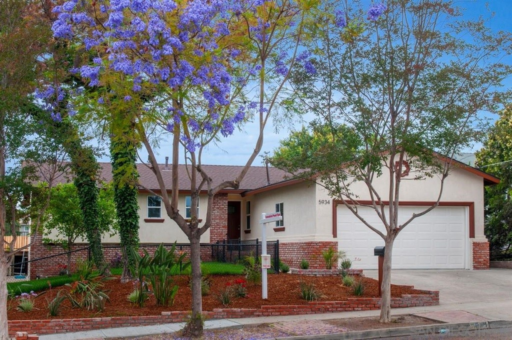 Stunning fully-remodeled home on a quiet, tree-lined La Mesa cul-de-sac! Highlights include an impressive open kitchen, huge great room with fireplace & wet bar, spacious bedrooms, Pool & Spa and A/C. This home is light and bright throughout with refinished hardwood floors, custom neutral paint and dual pane windows.   New roof, landscaping, stucco & paint completed in 2017. NO HOA or Mello-Roos. Conveniently located to all San Diego has to offer. See supplement for detailed description...  Impressive open kitchen with new cabinets, custom granite counters, new SS appliances & breakfast bar. Massive Great Room for entertaining featuring a stone fireplace, sit-down wet bar and slider to the back yard. Let your parties flow outside to enjoy the sparkling pool & spa, patio, garden and beautiful views of the neighborhood hills. Bedrooms and bathrooms are spacious with generous closets, quartz-topped dual vanities, and custom tile work.  Master Bath features large soaking tub and Guest Room features direct access to the hall bath with large walk-in shower. Pool and spa were replastered and spa heater replaced in 2017.  Schedule your showing today!.  Neighborhoods: Ray Park Equipment:  Dryer,Garage Door Opener, Washer Other Fees: 0 Sewer:  Sewer Connected Topography: LL