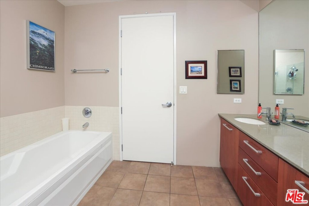 Bathroom 1 from walk-in closet