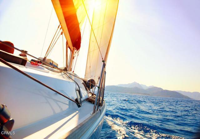 Boat Channel Islands