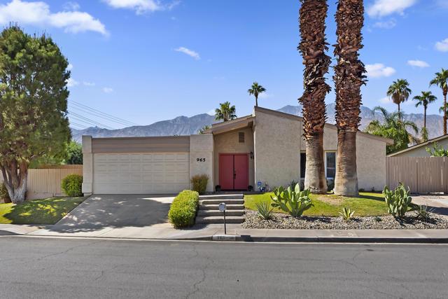 965 S Nueva Vista Drive, Palm Springs, CA 92264