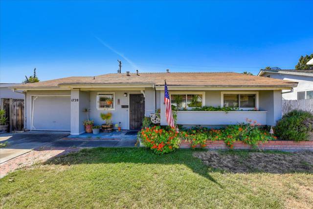 1728 Fallbrook Avenue, San Jose, CA 95130