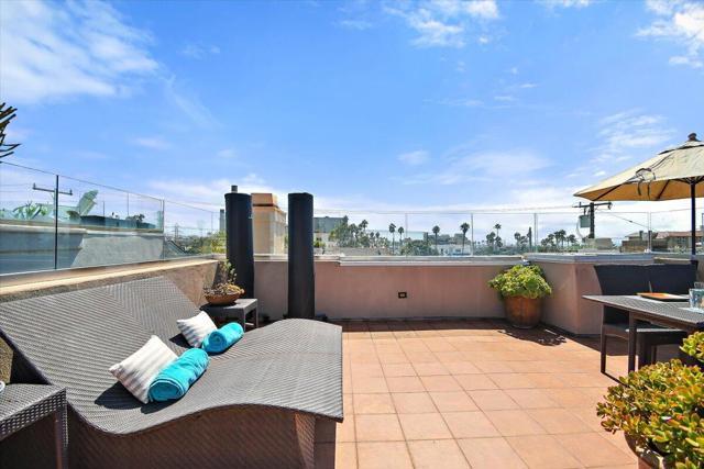 Relaxing rooftop