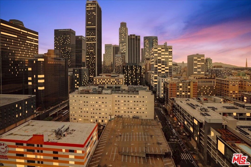 DTLA view from the window