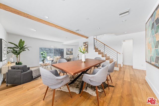 FRESH PRICE, FRESH STAGING, READY TO BE SOLD! Welcome to this BSPK stunning designed townhouse in the lovely heart of Santa Monica. This remarkable gem is a great find and was redone for one of the owners of the company. With incredible thought for detail, this unit was thoroughly designed for any discreet buyer. This unit offers endless natural light with a bright aesthetic located just blocks from Montana Avenue, amazing parks, the beach, and Franklin Elementary. With designer finishes at every turn, this recently updated unit features 3 spacious bedrooms, 2.5 luxurious baths, and in unit laundry. An impressive chefs kitchen features a center island, stainless steel appliances, and a large breakfast nook with plenty of seating. This townhouse has over 1,700 square feet of living space, perfect for anyone looking to be near the heart of everything that Santa Monica has to offer.