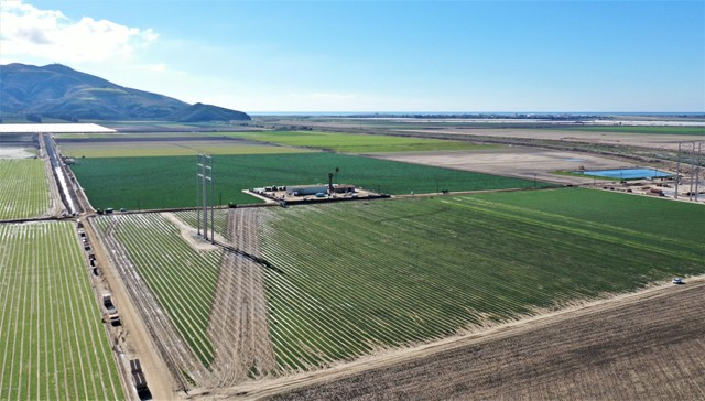 Round Mountain Ranch - 367.68 +/- Acres of Prime Ventura County Farmland on the Camarillo/Oxnard Plain with 316 gross farmable acres. Located on West Potrero Rd, south of the Intersection of Potrero, Hueneme & Lewis Roads, adjacent to Calleguas Creek & near Hwy 1 & the 101 Fwy. Comprised of 5 Parcels Plus added Benefit of SCE License Agreement for an additional 26 farmable acres (SCE license currently w/ Tenant). 2 Water Sources: Private Onsite Well pumping 1,118+/- GPM & Pleasant Valley County Water District water.Portions of the ranch are Tiled. Improved with two Equipment Sheds (1 large & 1 small).Sale is subject to a Farm Lease expiring 7/31/22.Zoned AE 40 Acre Minimum & Subject to Ventura County SOAR. AP #s 230-0-180-220 (174.3 Acs), -095 (52.21 Acs), -200 (70.47 Acs), -210 (70.47 Acs), & -070 (10,000 sf) totaling 367.68 gross acres.