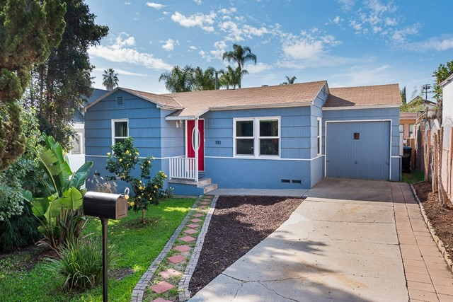 Golden Hill Charmer! Beautiful 2 bedroom, 1 bath detached home with large yard, covered patio and 1 car garage in the heart of Golden Hill. Original hardwood floors shine and extensive upgrades add to the appeal and energy-efficiency of this fantastic home. Highlights include a remodeled kitchen & bathroom, dual-pane windows, upgraded 200 amp electrical service, new sewer main, ceiling fans, whole-house fan and fresh exterior paint. All appliances convey. Zoned RM-4-10, potential for units. See supp... Neighborhoods: Golden Hill Equipment:  Dryer, Range/Oven, Washer Other Fees: 0 Sewer:  Sewer Connected Topography: LL,GSL