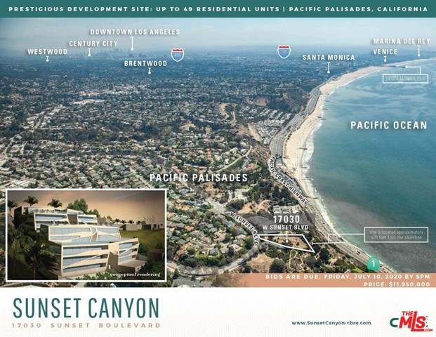 17030 W SUNSET Boulevard, Pacific Palisades, CA 90272