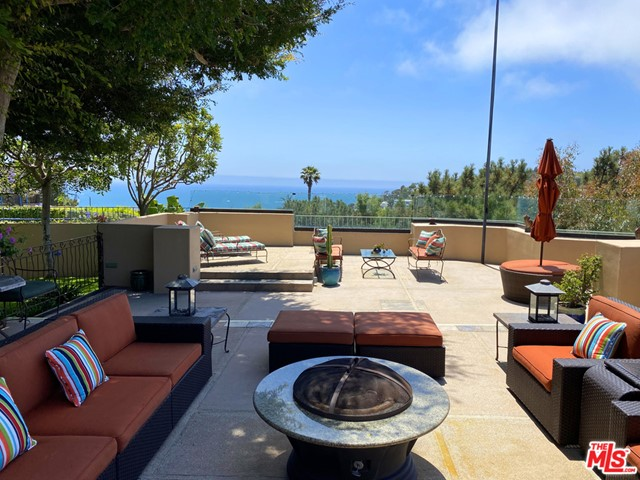 Spectacular Ocean, Mountain, Canyon Views! This charming Traditional artistic residence is an entertainer's sanctuary. Nestled on a quiet street in Pacific Palisades this 4 Bed / 4Bath home has everything you could ask for; a beautiful Living Room, secluded Den, spacious Dining & Kitchen that opens to the sensational outdoor dining and patio areas. Vaulted Ceilings, Fireplaces, Art Niche Walls are just a few of the unique details this home offers. Three bedrooms are located on the first floor. The second floor features a private master suite and office with amazing ocean, mountain and canyon views. An exceptional opportunity to live near the Beaches, Palisades Village, and Hiking Trails.Designed by Swiss Architect Victor R. Schumacher who was employed by Gruen Associates where he worked with Cesar Pelli & William Pereira & Associates where Schumacher eventually became vice president. 17083 Bollinger Drive was designed as Schumacher's personal residence. Upon entry to this unique home the surprises await you, it's as if you have stepped into a Swiss Chalet in that there are spectacular views from practically every room.