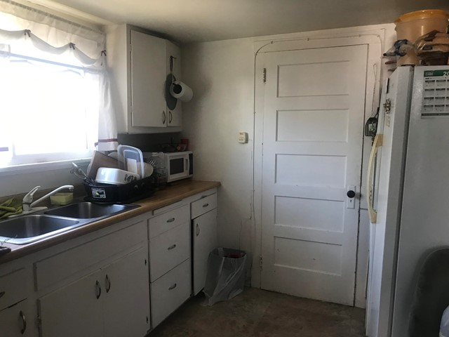 Front House Kitchen view