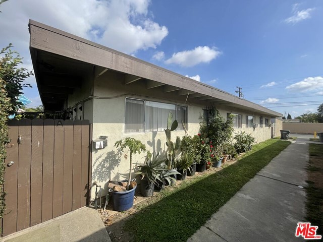 SHORT SALE! This single-level 4-plex has an excellent mix of 2BD/1BA configured units with an enclosed garage. Good condition and an excellent rental area with shopping, restaurants, and leisure in all surrounding areas. Next to Knott's Berry Farm Park and Cypress College, while very close to the 91 and 5 freeways as well. Each unit is currently being rented out totaling $7800/month in gross income. One unit is in transition with a tenant ready to fill in, however it may be delivered vacant if needed. This is a dream come true for an investors income property, or for a home buyer looking to live in and manage the others. Short sale subject to lender approval.