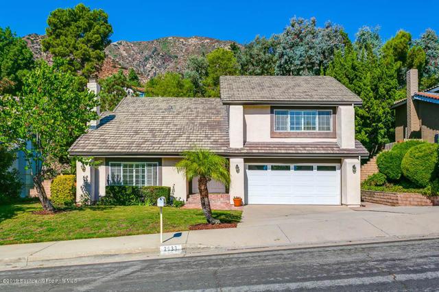2933 Mountain Pine Drive, La Crescenta, CA 91214