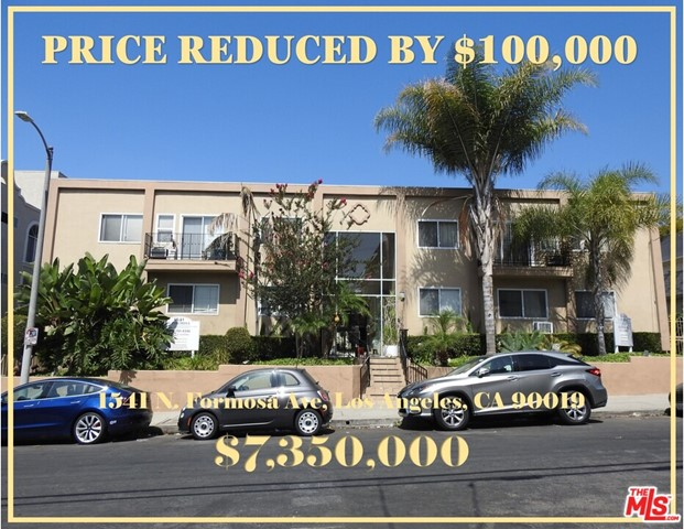 Price reduced by $100,000. The new asking price is $7,350,000. The property is individually metered for gas and electricity. The two-levels of apartments are situated around a courtyard with an attractive swimming pool and patio with barbecue at the rear of the property. Boasting a Walk Score of 96, the property is steps away from Runyon Canyon, Sunset Boulevard, Santa Monica Boulevard, and La Brea Avenue and is a true walkers paradise. Several units have been recently upgraded and renovated during unit turnover but there remains an impressive amount of rental upside for a new owner to take advantage of. There is a storage area that could be potentially converted into a legal unit through the city's ADU program. Amenities at this community include full kitchens, hardwood floors, two-story lobby, air conditioning, gated access, swimming pool with barbecue area, landscaped courtyard,covered parking, and balconies and patio in select units.