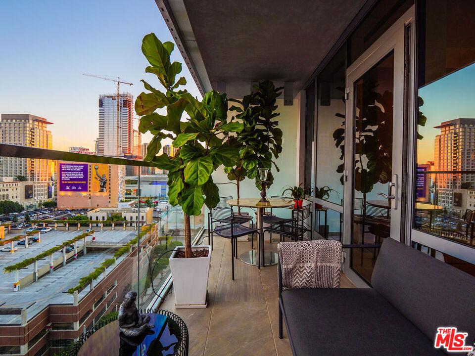 Rare Private Balcony