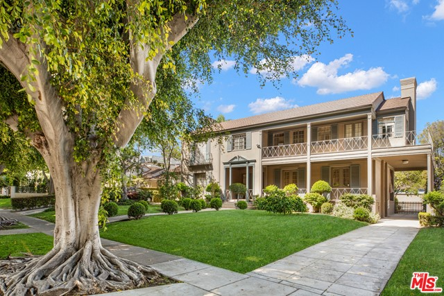 Classic 2 story 1930's Traditional, reminiscent of Old Beverly Hills. Located in one of the best blocks of the Beverly Hills Flats, featuring beautiful backyard, separate guest house, pool, etc. Incredible opportunity!!