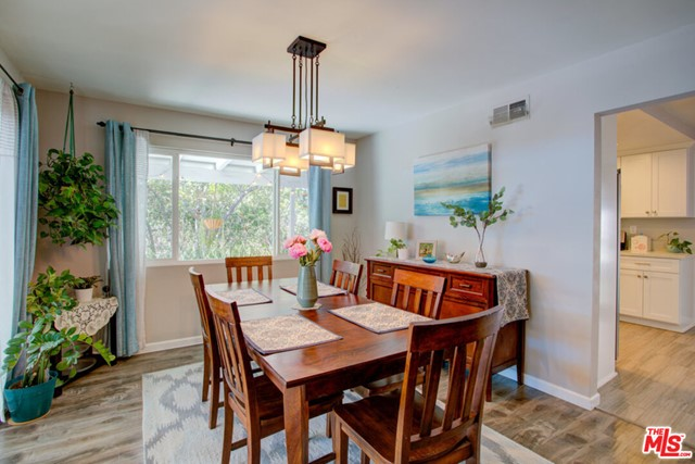 Dining Room off of Living Room views of beautiful nature