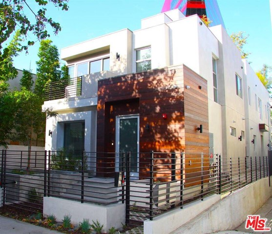 New modern building in heart of West Hollywood. Great for owner user. Stunning 3 unit each 2 bedroom, 2.5 bath townhome-style. First floor is dining & living room, pocket door windows opens to a large private patio that creates a great flow of indoor/outdoor space. High quality kitchen with European appliances and Italian cabinet. Upstairs there are 2 bedroom suites with custom closets, designer bathroom with oversized shower, seamless glass enclosure, double sink, porcelain tile. Other features: Large private roof deck great for entertaining, recessed lighting throughout, wood flooring, laundry and storage. In addition the secure gate each unit has a second gated private garage for 2 cars with direct access to the unit or can use part of it as office. Close distance to best area of West Hollywood, restaurants, high-end designer boutiques, PDC and the Grove.