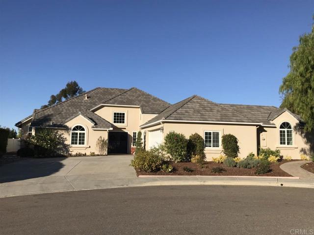 1262 Las Vistillas Lane, San Marcos, CA 92078