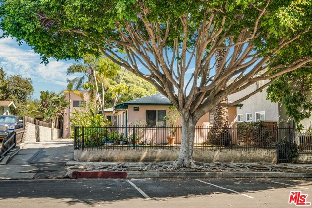 Welcome to an incredible investment opportunity.  Whether you are looking for upside in rent or a potential development property, you will have it all here!  This 6-unit property is located on a 7500 square foot lot in a prime area of coveted Santa Monica.  The 6-units include two separate buildings.  The front building consists of (2) one-bedroom apartments, one with an enclosed front yard and with an in-unit W/D.  The back building consists of four upstairs units, which include (2) one-bedroom units and (2) studio units located above 4 one-car garages. Additional income of $750 from individually rented garages. The beautiful tree lined street is wide and inviting for a secluded neighborhood walk while maintaining the allure of access to many of the popular Santa Monica attractions.  With easy freeway access and a central Santa Monica location, this beautiful property offers any type of investor an incredible opportunity for financial growth. Sale is subject to a 1031 exchange.  Property is fully occupied; showings with accepted offer only.  Please do not disturb tenants.