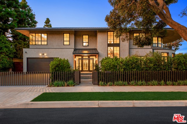 """Brand new construction set in the coveted Huntington Palisades. This is not a spec home but rather an Owner/User's sophisticated masterpiece with unrivaled attention to detail & craftsmanship, which was the spirit & theme to this """"no-budget"""" build. An 11,607 Sq.Ft. architectural statement set on a 15,027 Sq.Ft. corner lot with pool, spa, waterfall & detached pool cabana. 7-bedroom suites, 10-bathrooms, an opulent library/study, wet room, separate master suite office, 2,160-bottle temperature controlled wine rooms, Dolby Atmos movie-theater, elaborate Savant Pro home automation & game/recreational room. Facing the backyard with 40' of floor to ceiling Fleetwood doors, is a massive kitchen/great room with 16'x9' Dolby Atmos video wall & separate full functioning prep kitchen with service entrance. A one-of-a-kind custom home set in the cozy beach community of the Pacific Palisades, just steps to the village shopping, schools, movie-theater, restaurants, beach, bike path & hiking trails."""