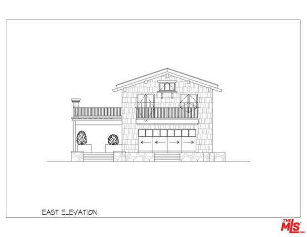 East Elevation (from backyard)