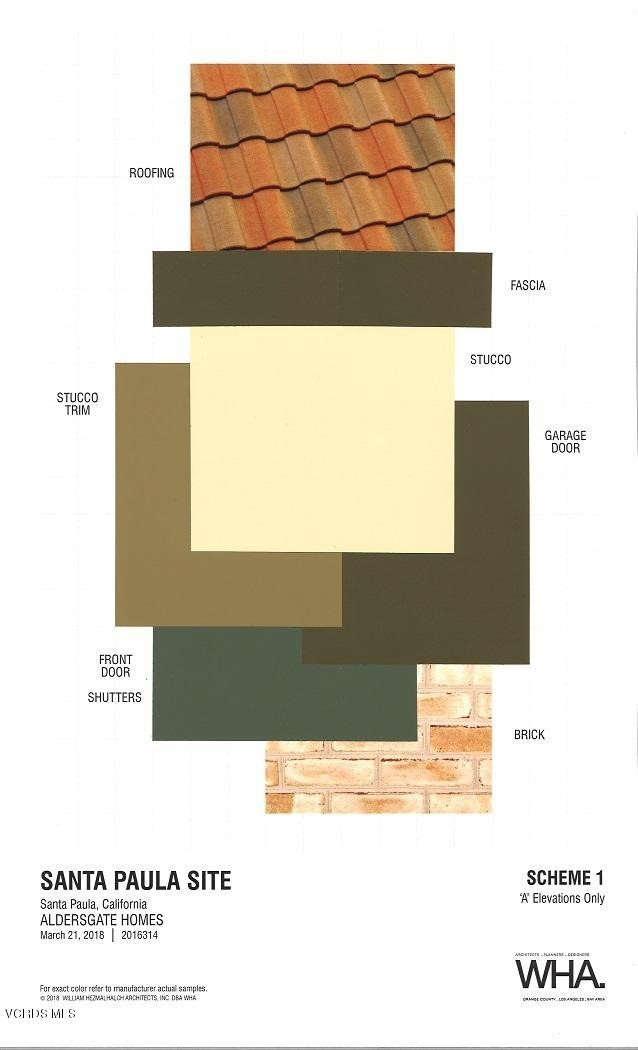 Materials and Colors Scheme 1 - A Elevat