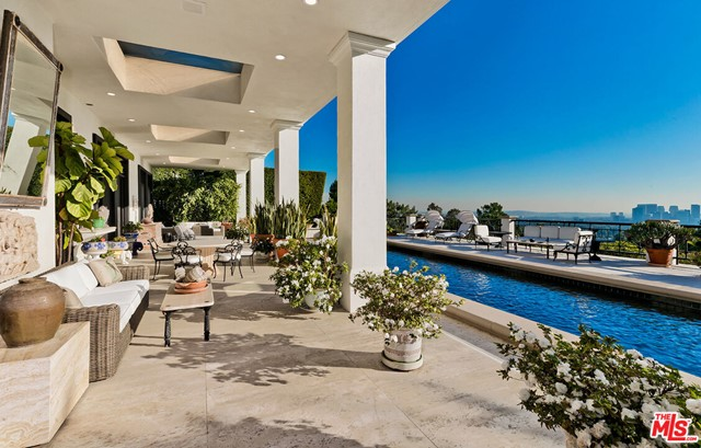 Covered Patio and Pool and Views