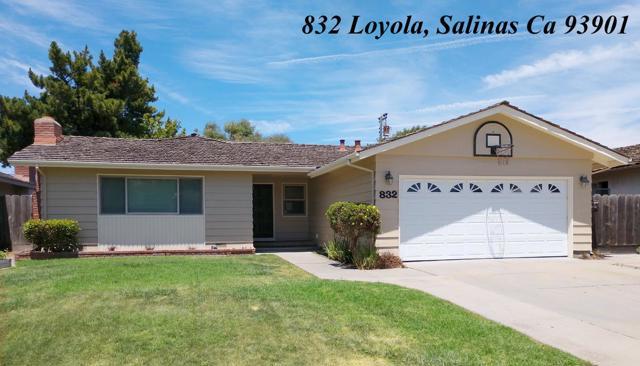 832 Loyola Drive, Salinas, CA 93901