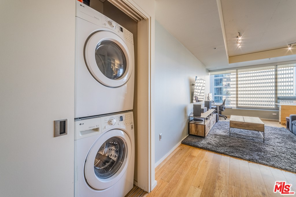 Laundry and Living Room