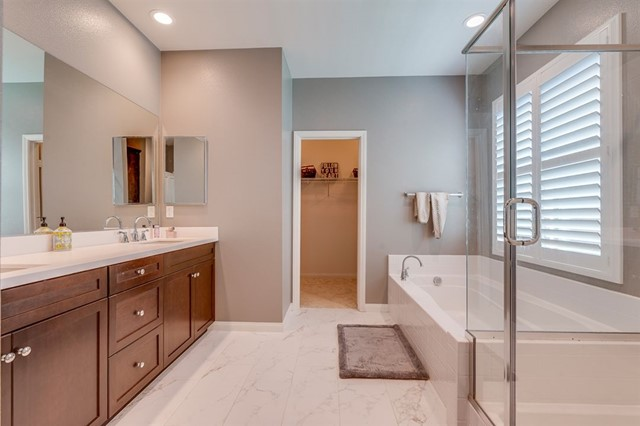 This is a Master Bath SPA! Dual Sinks, Separate Shower, Tub & Toilet Room. Gigantic Walk-In Closet!