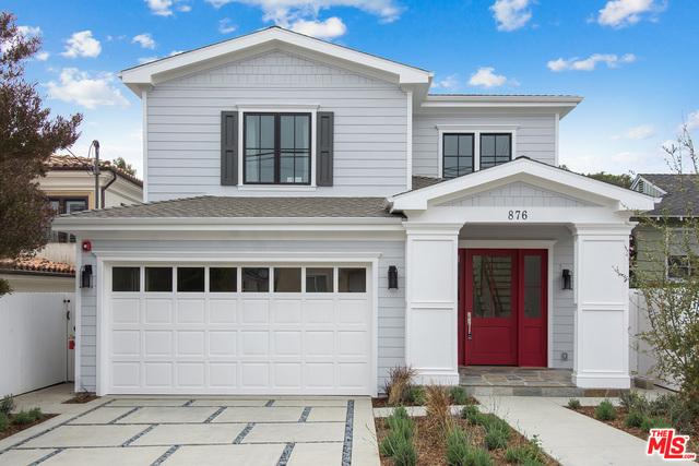 876 11TH Street, Manhattan Beach, California 90266, 5 Bedrooms Bedrooms, ,6 BathroomsBathrooms,For Sale,11TH,18362658