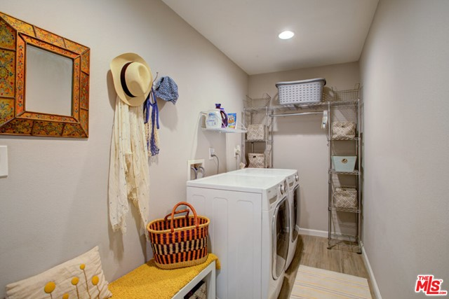 Laundry Room off of -car Spacious Attached Garage