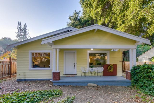 219 Willow Road, Menlo Park, CA 94025