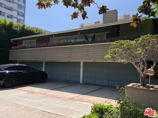 Furnished 1 Bed/1 Bath, laminate floors throughout, updated appliances.  Two parking spaces included, one covered garage and one driveway spot.  Water and gas included.