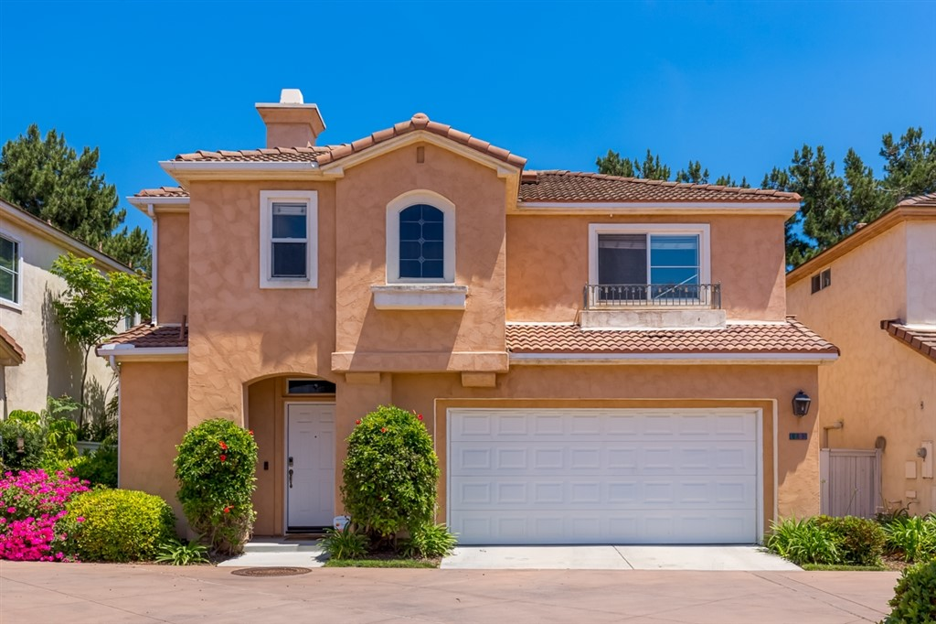 Beautiful home in desirable gated community La Vida at Eastlake Greens. This inviting home boasts lots of natural light, refinished cabinets, stainless steel appliances, new laminate floors and designer paint. Washer Dryer and Refrigerator included. Cozy private back yard surrounded by trees with no neighbors behind. Enjoy the multiple pools at the Eastlake Greens HOA. Otay Lakes recreation area, Olympic Training Center and Otay Ranch Mall just around the corner. 25 min to Downtown San Diego and Beaches  Wonderful home with lots of windows and natural light. Small loft at the top stairs - perfect for work station or small library. Beautiful balcony off the master bedroom for your own private retreat amount the pine trees that border the back yard. Only 25 min to downtown San Diego, Coronado Island and Local Beaches. Otay Ranch Mall is just around the corner with fine dining, shopping and a move theater. Just a little over a mile away you will find Otay Lakes recreation area, fishing, biking / hiking trails, and the Olympic training center..  Neighborhoods: Eastlake Greens Equipment:  Dryer, Washer Other Fees: 80 Sewer:  Sewer Connected