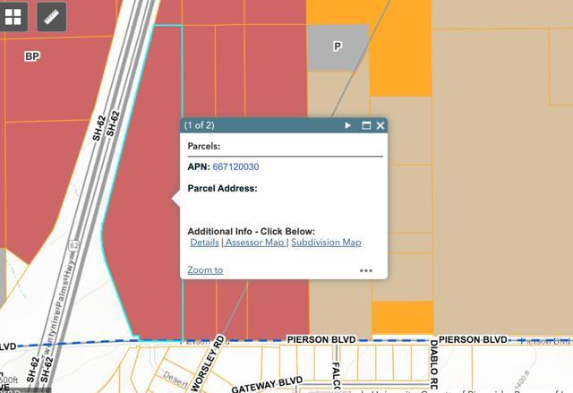 Details for 30 Acres Pierson & Hwy 62, Desert Hot Springs, CA 92240