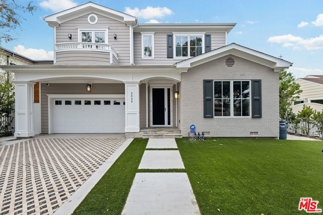 This nearly new 2016 gated Cape Cod Pool home offers it all!  Location, sophistication & comfortable living.  Large swimmers pool w/spa, outdoor shower + half bath, grassy front & rear yards, built-in BBQ, mini frig w/island, Control 4 System, Exterior Camera System, Alarm System, beautiful wide plank French Oak floors thru downstairs w/high ceilings & crown moldings, formal living room w/wainscotting & fireplace, Office w/French Doors to private patio, Formal dining room w/built-ins, French doors & adjacent Butlers Pantry w/wine refrigerator, prep sink & walk-in pantry.  Gorgeous cooks kitchen w/Grey veined marble lg. Island & counters, SS Thermador Professional appliances, incredible Great Room w/mirrored framed TV, speakers & Cat 5 wiring. Breakfast room w/glass pocket doors.  Downstairs guest room w/bath en suite.   Upstairs Main bedroom suite along w/3 other bedrooms all with high ceilings and bathroom en suite w/marble floors & counters.  Elegant Main bedroom suite w/fireplace, balcony, sitting area & sumptuous spa like bathroom w/dual vanities, separate water closets, walk-in closets w/skylights & built-in safe. Upstairs bonus room, upstairs laundry room includes machines, skylights & new chandelier. 2 car garage w/direct access.