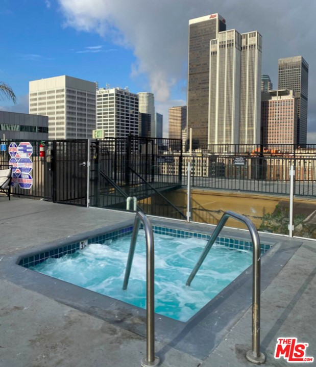 Hot Tub on Roof