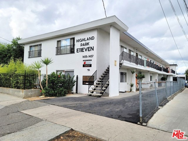 We are pleased to present an eleven (11) unit apartment building located at 1435 North Avenue 47 in Los Angeles, California. The subject property is situated in a prime Eagle Rock location, south of York Boulevard and west of Eagle Rock Boulevard. Eagle Rock is an eclectic neighborhood northeast of Downtown, with working class roots and a hip, laid-back vibe. Vintage shops, coffeehouses, Southern-inspired diners and old-school Italian joints line commercial strips that surround quaint residential blocks. A retro-cool bowling alley and Occidental College, a small liberal arts school, liven up the area, along with several craft beer focused watering holes. The neighborhood is inhabited by a wide variety of ethnic and socioeconomic groups and the creative class. Over the past decade the Eagle Rock and neighboring Highland Park have been experiencing gentrification as young urban professionals have moved from nearby neighborhoods such as Los Feliz and Silver Lake. The submarket is currently experiencing high levels of gentrification, with residents pouring over from Atwater Village, Silverlake, & Echo Park in hopes of finding a more laid-back environment while still living in the city. Built in 1963, this turn-key property is well renovated, stylish, and located within walking distance to Occidental College. The property contains an incredible unit mix of eleven (11) two bedroom / one bathroom units. Eight (8) units have been completely remodeled, and three (3) will be delivered vacant. This offering also comes with preliminary plans to build one (1) two bedroom ADU unit in the back of the building. Tenants will enjoy living with easy access to all of Los Angeles's world class amenities while being within walking distance to local restaurants, retail, and other amenities. Some of these include Echo Garden, Thai Eagle Rox, Put Me In Coach, Chifa, Hilltop Coffee + Kitchen, Society of the Spectacle, & Advanced Stitchworks. They can also find outdoor recreation within walki