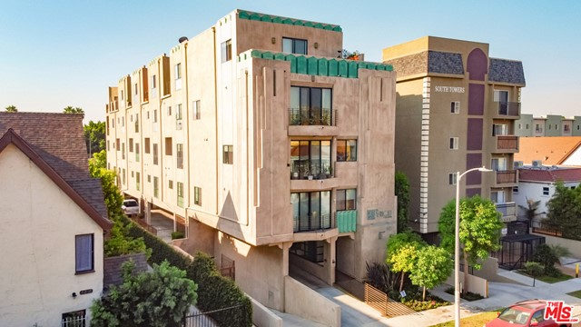 We are proud to present 5420 Harold Way, an 11-unit, 5-story condo building located on a quiet street in a rapidly transforming pocket of Hollywood, adjacent to Los Feliz and Thai Town. Built in 2008, this impressive architectural Deco style asset offers an investor the opportunity/flexibility to continue to operate the property as an apartment building, or sell-off the condo units individually. The property features a secured intercom entry into a light-filled lobby with polished concrete floors leading to the elevator for access to the units above. There are 2 levels of parking-one subterranean and one ground level, for a total of 25 spaces. There is a well-landscaped side/rear yard which can be converted into a dog run or outdoor common area space, as well as a top floor outdoor community deck with amazing south-facing city views.