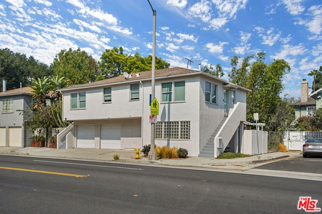 First time on the market, major renovation - and room to add value. This incredible triplex WILL BE DELIVERED VACANT and offers a larger unit downstairs that opens to a private and serene backyard. Dining area can be converted into a 2nd bedroom (closet remains). The two upstairs 1 bed/1 bath units, and the downstairs unit all have brand new stainless steel appliances, washer/dryer and air conditioning. All units are separately metered. There are two single car enclosed garages and 2 tandem parking spots behind the building. ADU plans have been drawn to convert the garages into a 300 SF rentable ADU. Close proximity to Schader Park, the Santa Monica Water Garden Park, Bay Club Gym, the LA Metro (26th/Bergamot Station), Ralphs and Whole Foods Market, restaurants, coffee shops, CVS, and more. Photos of the downstairs unit and one upstairs unit provided.