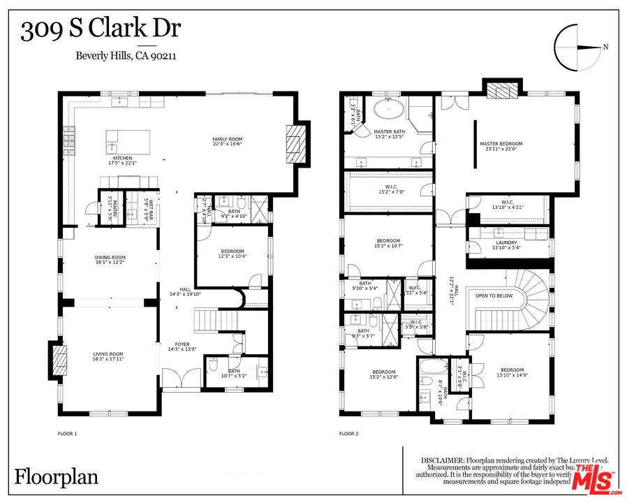309   S Clark Drive, Beverly Hills CA 90211