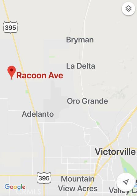 0 Racoon Road, Adelanto, CA 02301