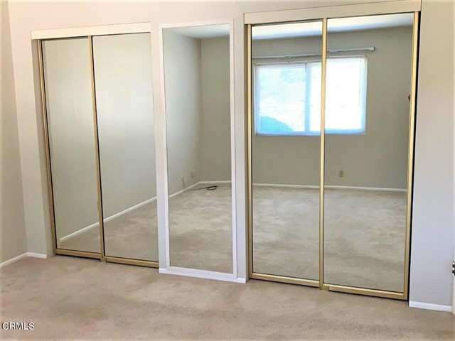 Double mirrored closets