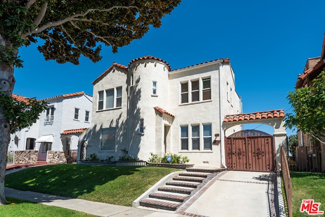 Beautifully remodeled side by side Spanish duplex located in the highly sought after Picfair Village neighborhood. Each private unit is two stories and has 2 bedrooms, 1.5 bathrooms, approx 1500 sq. ft. of living space, with laundry in the unit. These units feature open concept living, with hardwood floors and designer fixtures throughout. Gourmet kitchens with stainless steel appliances. This fantastic duplex has stunning views of Downtown Los Angeles from each unit. There is an extensive driveway for increased privacy, leading to an authentic Spanish archway, and a 2-car garage. Grassy back and front yards.  Great curb appeal with a nice set-back from the street. Each unit comes with its own address (1622 and 1624).  One unit will be delivered vacant.  This is a must-have property. All showings will require PEAD documents and COVID-19 protocols. Showings with accepted offer only on the occupied unit, but easy to show vacant unit after Nov 20th.
