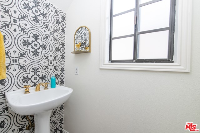 Powder Room on First Level