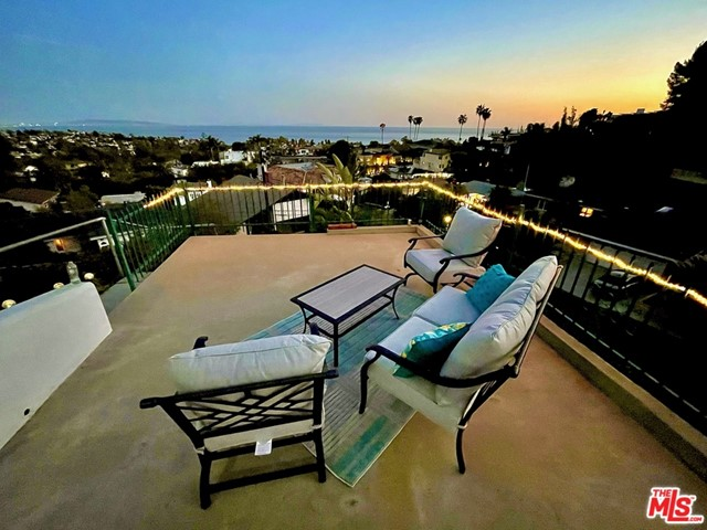 Panoramic Ocean & Catalina Views. 2nd Owner. Lots of light.  LR has Wall of Glass facing South to yard, engineered patio and dramatic views. 2nd Owner 1700 sq ft single story home on Large 13k sq ft lot (downslope). High beam ceilings. Remodel or create your own dream home. Trust sale. No court confirmation.