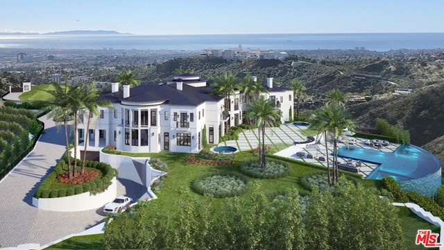 AUCTION: Bid May 5-11. Currently Listed for $29.9M. Current High Bid $21M. Showings by Appointment. A design more than a decade in the making, Stella Nova offers an unthinkable 30+ac in the foothills of the Santa Monica mountains in the heart of Bel Air, with breathtaking 360-degree views of the Pacific Ocean to Downtown Los Angeles. Admire the snowcap mountains that make this one of the most unique settings in all of Southern California. Break ground on a staggering seven acres of land already graded and standing shovel-ready for fully-approved plans and permits. Plans include a massive 40,000sf estate, sprawling around a grand ballroom lined with French doors that open to an expansive terrace overlooking the ocean. As one of the last locations of its kind, exclusive privacy with the convenience of modern amenities nearby can all be yours. Stella Nova is a gem unlike any other, even in opulent Bel Air, and is a once-in-a-lifetime opportunity to create an estate beyond comparison that is truly your own.