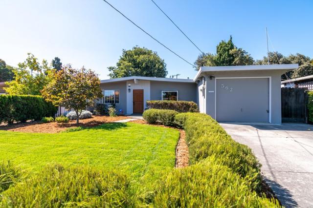 562 Cypress Avenue, Sunnyvale, CA 94085