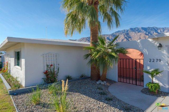 2279 N Blando Rd, Palm Springs, CA 92262